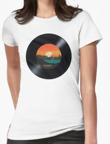 Rising Tide Blues  - Vinyl Disc Womens Fitted T-Shirt