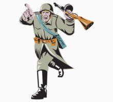 World War Two Soviet Soldier T-Shirt