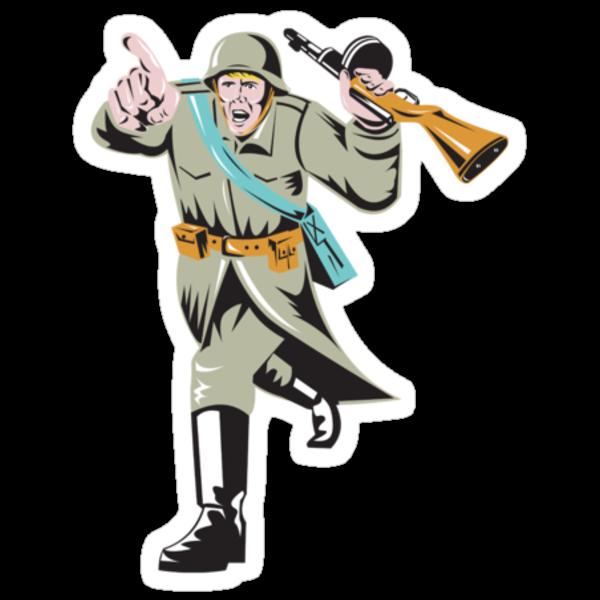 World War Two Soviet Soldier by patrimonio