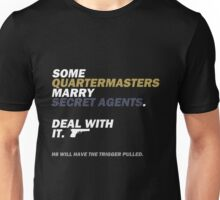 When to pull a trigger (or not). Unisex T-Shirt