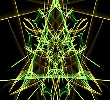 Yellow & Green Triangles  by jjabarms