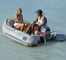 Aruba Water Taxi  by John  Kapusta