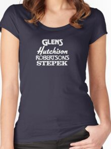 Glens, Hutchison, Robertson and Stepek Women's Fitted Scoop T-Shirt