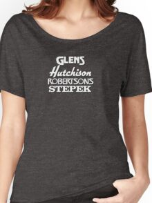 Glens, Hutchison, Robertson and Stepek Women's Relaxed Fit T-Shirt