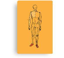 human figure sketch  Canvas Print