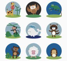 Animal Bubbles Kids Clothes