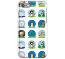 Animal Bubbles iPhone Case/Skin