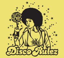 Disco Rulez One Piece - Short Sleeve