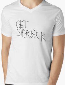 Get Sherl☻ck - 01 - Mens V-Neck T-Shirt