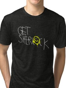 Get Sherl☻ck - 02 - Tri-blend T-Shirt