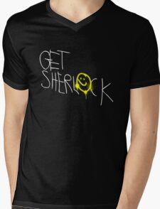 Get Sherl☻ck - 02 - Mens V-Neck T-Shirt