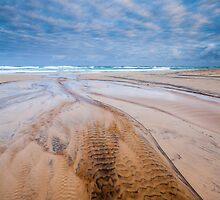Did the sky mimic the sand or the sand mimic the sky? by Martin Canning