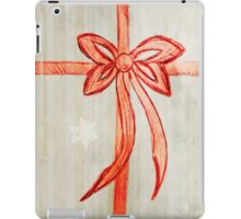 Bow (Snowflake Version) iPad Case/Skin