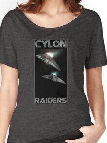 Cylon Raider Space Patrol Women's Relaxed Fit T-Shirt
