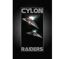 Cylon Raider Space Patrol Photographic Print