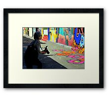 Getting The Right Angle Framed Print