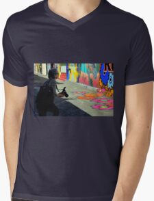 Getting The Right Angle Mens V-Neck T-Shirt