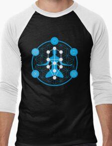 Spirituality and Flower of Life Men's Baseball ¾ T-Shirt