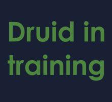 Druid in Training Kids Tee