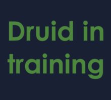 Druid in Training Kids Tee