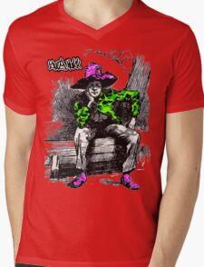 YUNG FINN Mens V-Neck T-Shirt