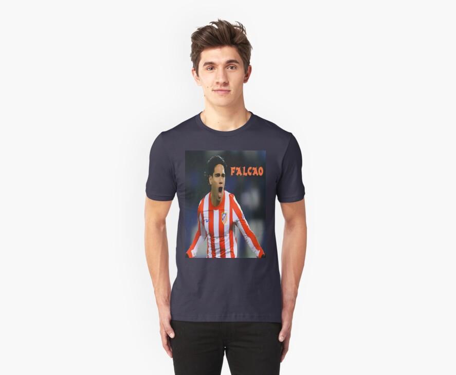 """Radamel Falcao """"El Tigre"""" T-shirt by DABC"""