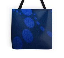 Blue Circles [ Print & iPad / iPod / iPhone Case ] Tote Bag