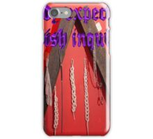 Nobody expects the Spanish inquisition (Monty Python) iPhone Case/Skin