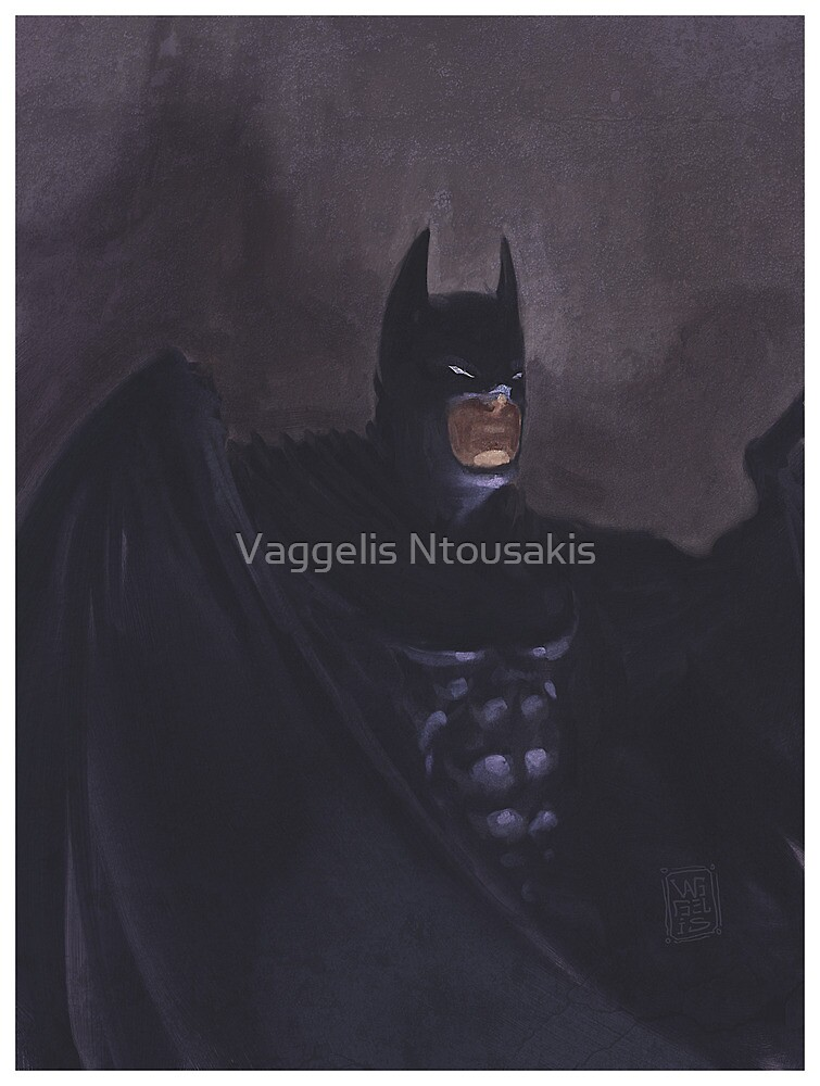 I am the night. by Vaggelis Ntousakis