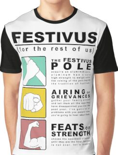 FESTIVUS airing of grievances illustration Graphic T-Shirt
