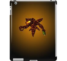 Sci-Fi Lava Alien from another world iPad Case/Skin
