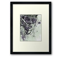 Fear and Loathing in Las Vegas - Johnny Depp - Paint Framed Print