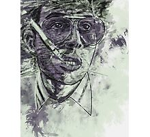 Fear and Loathing in Las Vegas - Johnny Depp - Paint Photographic Print