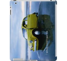 Speed didn't matter iPad Case/Skin