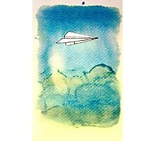 Papering Sky Photographic Print