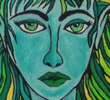 Green Elf Sticker