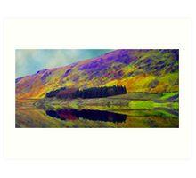 The Beautiful Lake District Cumbria Art Print