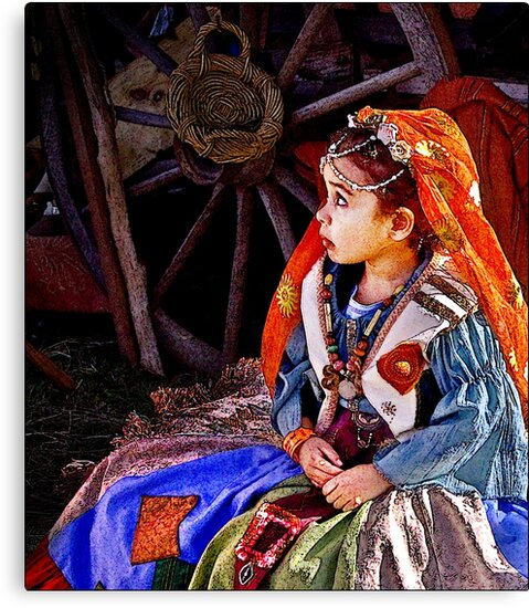 gypsy girl by carol brandt