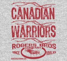 canadian warriors by rogers T-Shirt