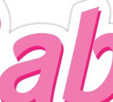Barbie Babe Sticker