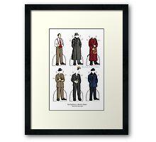 Basil Rathbone as Sherlock Holmes Framed Print