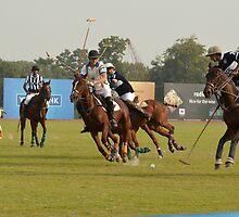 A Polo match by Ikramul Fasih