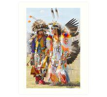 Pow Wow - Grand Prairie, Tx Art Print