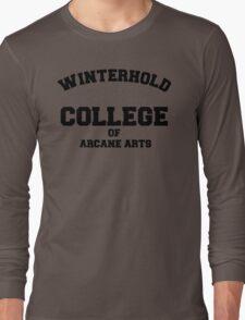Winterhold College T Shirt Long Sleeve T-Shirt