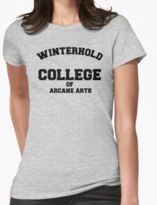 Winterhold College T Shirt Womens Fitted T-Shirt