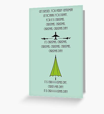 Get Dressed You Merry Gentlemen Greeting Card