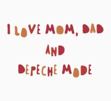 Depeche Mode for children =) Kids Clothes