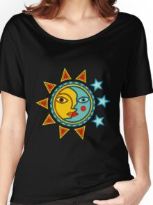 Sun and Moon #3 Women's Relaxed Fit T-Shirt