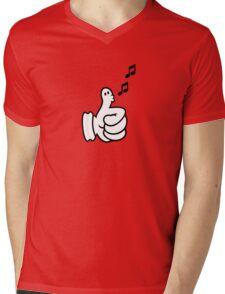 Thumbs up (Whistler) VRS2 Mens V-Neck T-Shirt
