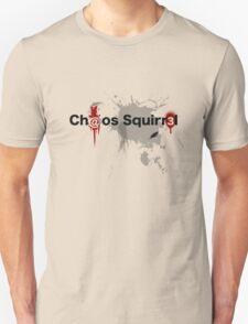 Ch@os Squirr3l Tex-T Logo. T-Shirt